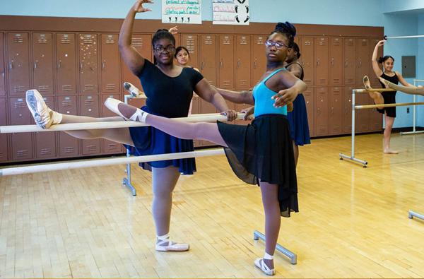 Ballet student dancers 2