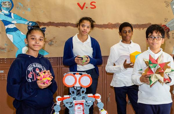 Robotics class share out