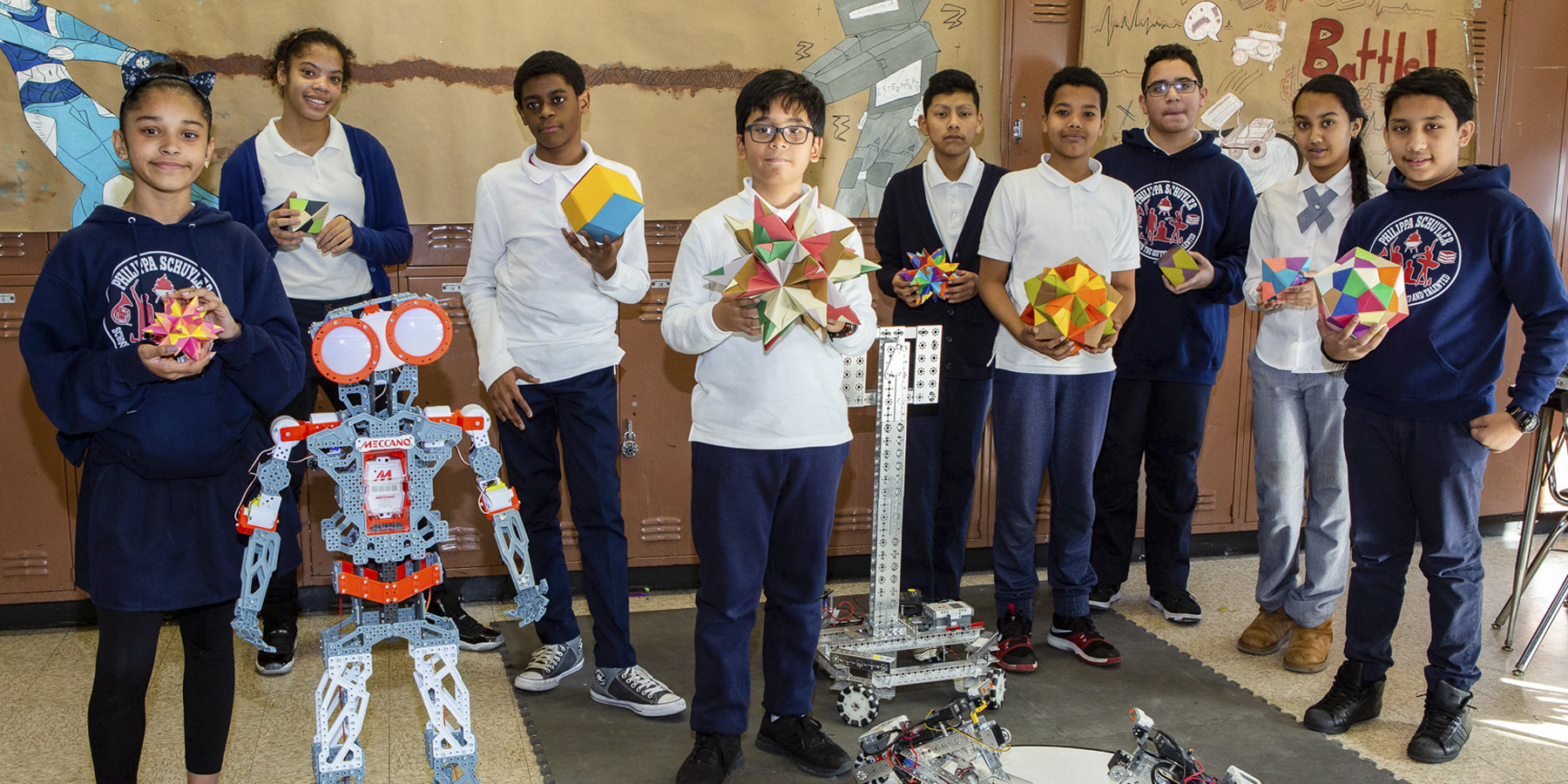 PS Robotics Students
