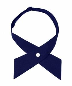 navy blue cross tie