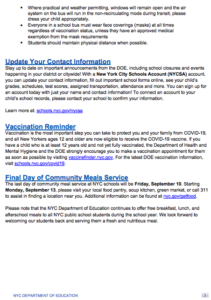 Family Newsletter page 3